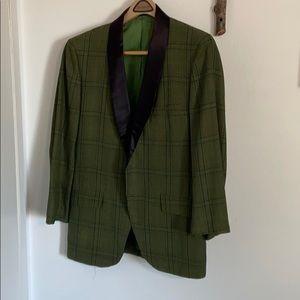 Vintage Botany 500 Green Suit Jacket